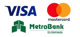 Visa - MasterCard - MetroBank